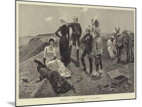 Revisiting the Trenches of Tel-El-Kebir-Richard Caton Woodville II-Mounted Giclee Print