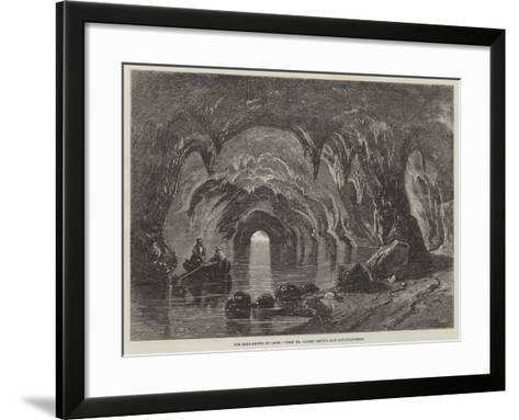 The Blue Grotto at Capri-Richard Principal Leitch-Framed Art Print