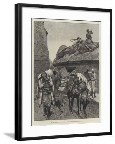The Revolution in East Roumelia, Turkish Fugitives Leaving a Village-Richard Caton Woodville II-Framed Art Print
