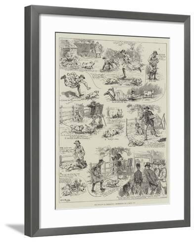 The Penalty of Perfection, Experiences of a Model Pig-S^t^ Dadd-Framed Art Print