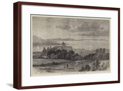 Opening of the Sutherland and Caithness Railway, Kirkwall, Orkneys-Samuel Read-Framed Art Print