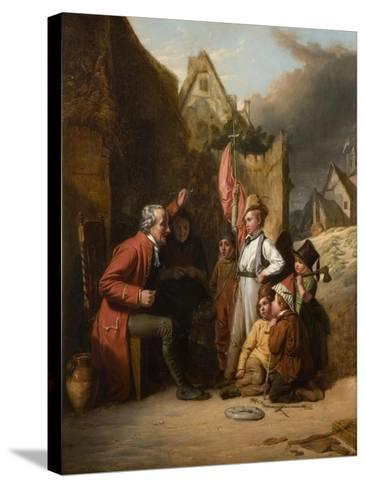 Old Wooden Leg, 1830-Robert Farrier-Stretched Canvas Print