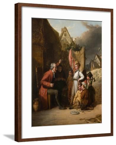 Old Wooden Leg, 1830-Robert Farrier-Framed Art Print