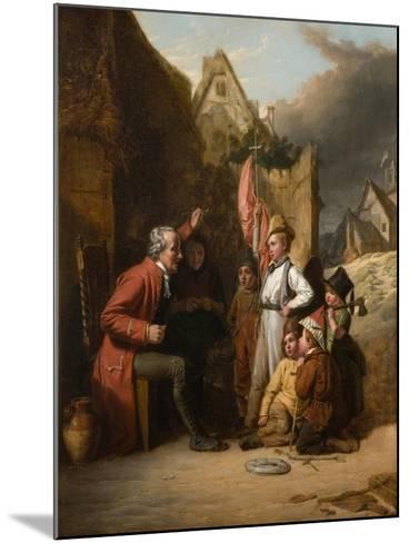 Old Wooden Leg, 1830-Robert Farrier-Mounted Giclee Print