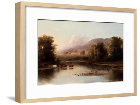 View of the St. Anne's River, 1870-Robert Scott Duncanson-Framed Art Print