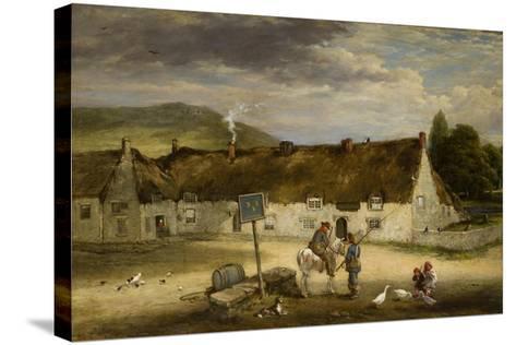The Three Half Moons, Rothbury, 1887-Robinson Elliot-Stretched Canvas Print
