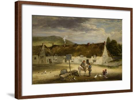The Three Half Moons, Rothbury, 1887-Robinson Elliot-Framed Art Print
