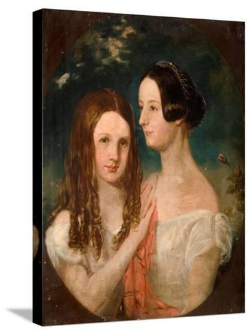 The Two Misses Preston-Robinson Elliot-Stretched Canvas Print