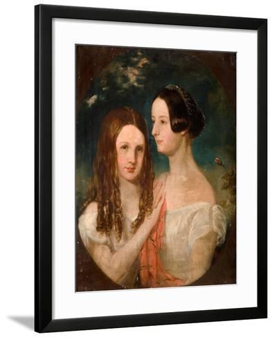The Two Misses Preston-Robinson Elliot-Framed Art Print