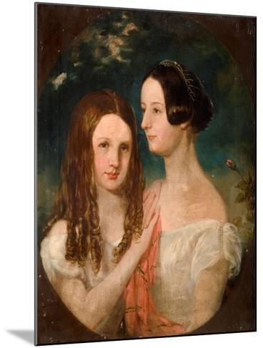 The Two Misses Preston-Robinson Elliot-Mounted Giclee Print