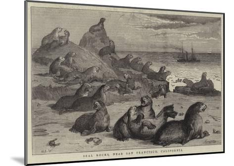 Seal Rocks, Near San Francisco, California-Samuel Edmund Waller-Mounted Giclee Print