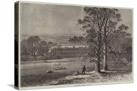 Knowsley House-Samuel Read-Stretched Canvas Print