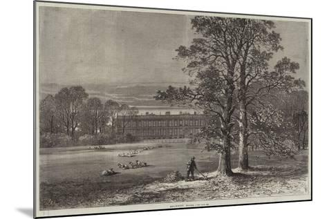 Knowsley House-Samuel Read-Mounted Giclee Print