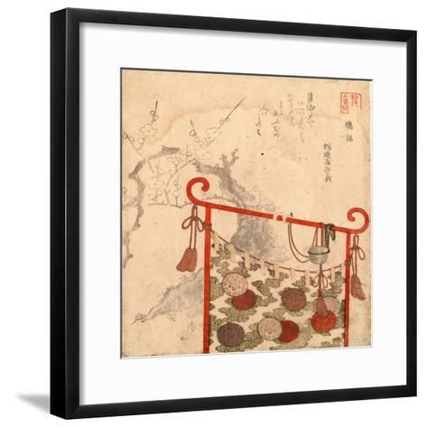 Omu-Ryuryukyo Shinsai-Framed Art Print