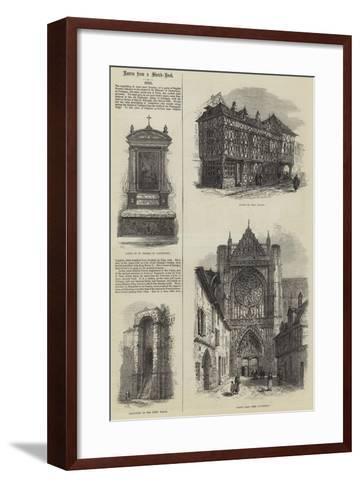 Sens-Samuel Read-Framed Art Print