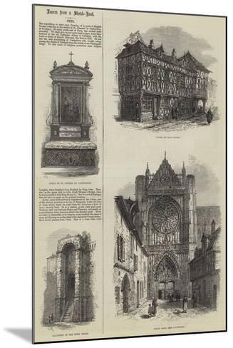 Sens-Samuel Read-Mounted Giclee Print