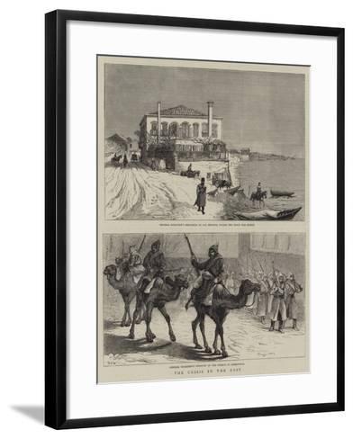 The Crisis in the East-Samuel Edmund Waller-Framed Art Print