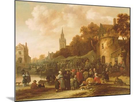 The Village Fair, 17th Century-Salomon Rombouts-Mounted Giclee Print