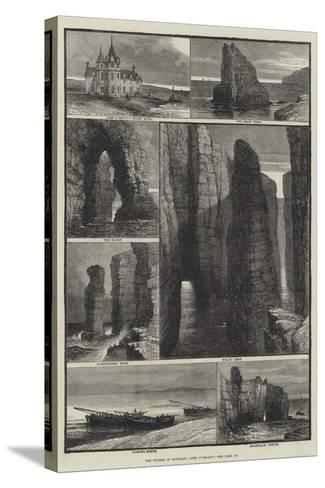 The Tourist in Scotland, John O'Groat's-Samuel Read-Stretched Canvas Print