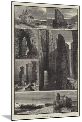 The Tourist in Scotland, John O'Groat's-Samuel Read-Mounted Giclee Print