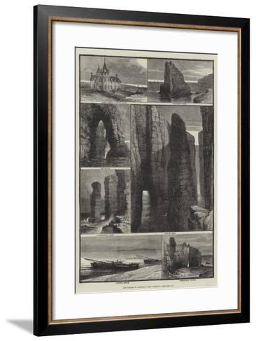 The Tourist in Scotland, John O'Groat's-Samuel Read-Framed Art Print