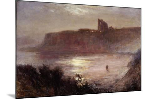 Moonlight - Tynemouth Priory, C.1922-Robert Jobling-Mounted Giclee Print