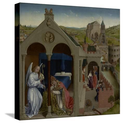 The Dream of Pope Sergius, C.1430-Rogier van der Weyden-Stretched Canvas Print