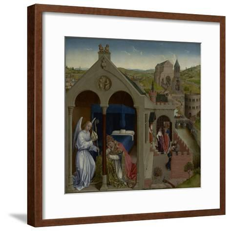 The Dream of Pope Sergius, C.1430-Rogier van der Weyden-Framed Art Print