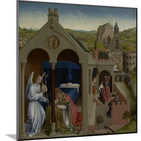 The Dream of Pope Sergius, C.1430-Rogier van der Weyden-Mounted Giclee Print
