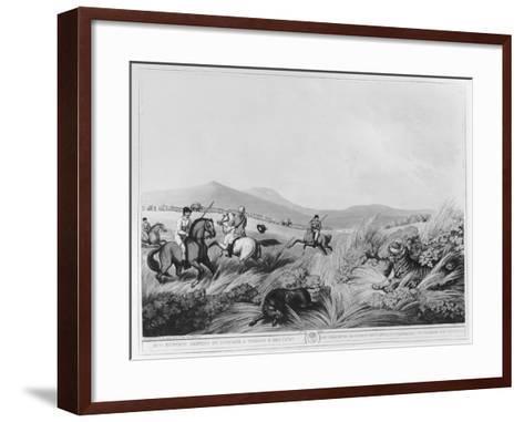 Hog Hunters Meeting-Samuel Howett-Framed Art Print