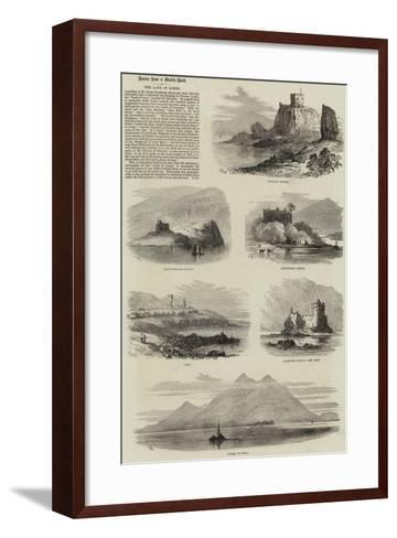 The Land of Lorne-Samuel Read-Framed Art Print