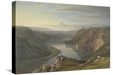 The Avon Near Bristol-Samuel Jackson-Stretched Canvas Print