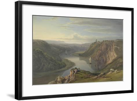 The Avon Near Bristol-Samuel Jackson-Framed Art Print
