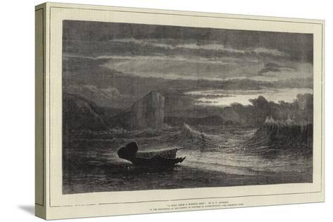 A Waif from a Missing Ship-Samuel Phillips Jackson-Stretched Canvas Print