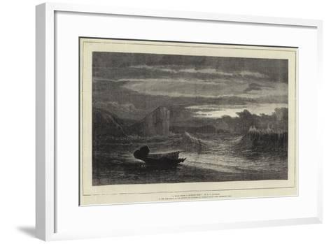 A Waif from a Missing Ship-Samuel Phillips Jackson-Framed Art Print