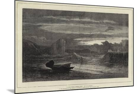 A Waif from a Missing Ship-Samuel Phillips Jackson-Mounted Giclee Print
