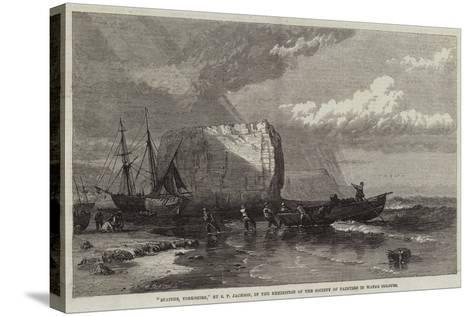 Staiths, Yorkshire-Samuel Phillips Jackson-Stretched Canvas Print