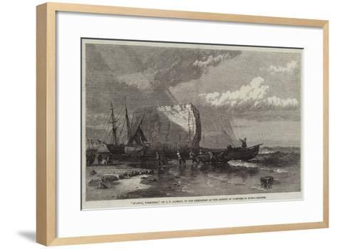 Staiths, Yorkshire-Samuel Phillips Jackson-Framed Art Print