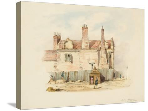 Forth House - Back View-Samuel Bilston-Stretched Canvas Print