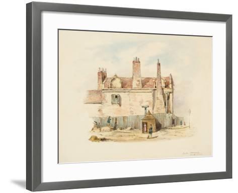 Forth House - Back View-Samuel Bilston-Framed Art Print