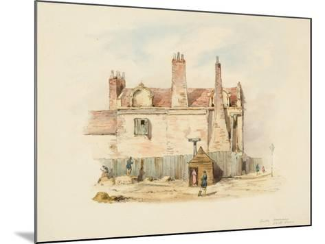 Forth House - Back View-Samuel Bilston-Mounted Giclee Print