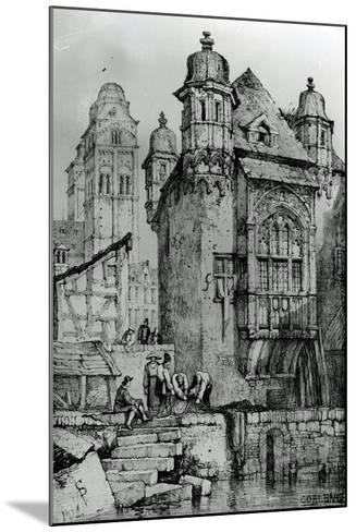 Coblence from Sketches in Flanders and Germany, 1833-Samuel Prout-Mounted Giclee Print