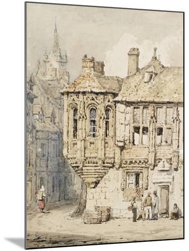 Street Scene in Rouen-Samuel Prout-Mounted Giclee Print