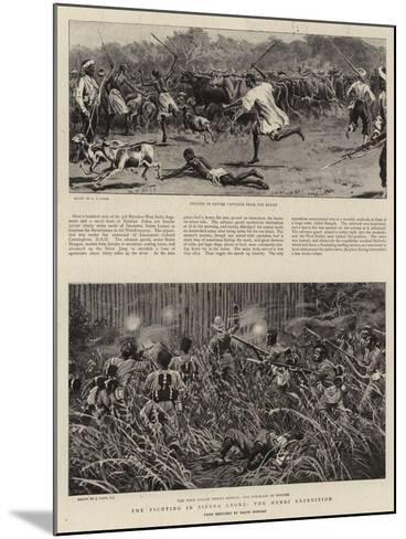 The Fighting in Sierra Leone, the Mendi Expedition-S^t^ Dadd-Mounted Giclee Print