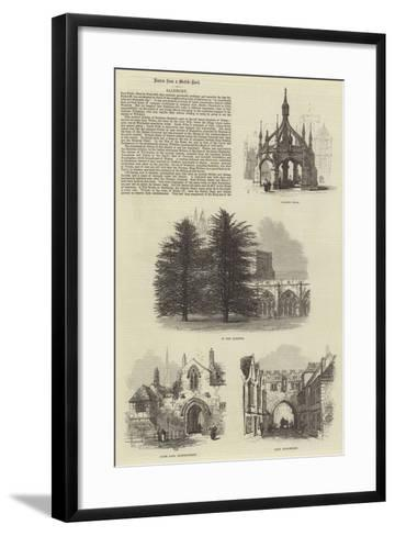 Salisbury-Samuel Read-Framed Art Print