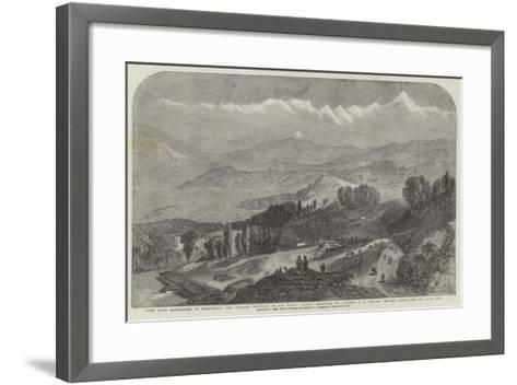 View from Darjeeling of Deodhunga-Samuel Read-Framed Art Print