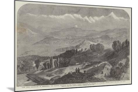 View from Darjeeling of Deodhunga-Samuel Read-Mounted Giclee Print