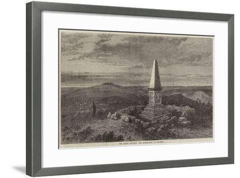 The Crimea Revisited, the Battle-Field of Inkerman-Samuel Read-Framed Art Print