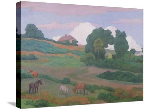 On Luppitt Common, No. 1, 1924-Robert Polhill Bevan-Stretched Canvas Print