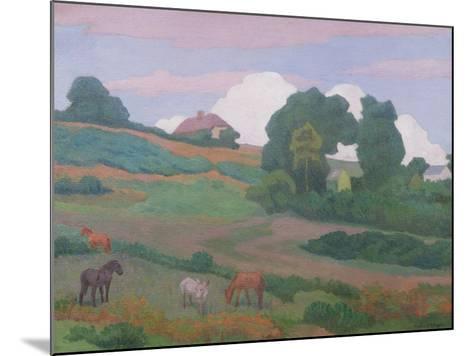 On Luppitt Common, No. 1, 1924-Robert Polhill Bevan-Mounted Giclee Print